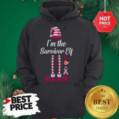 Official I'm The Survivor Elf Hoodie