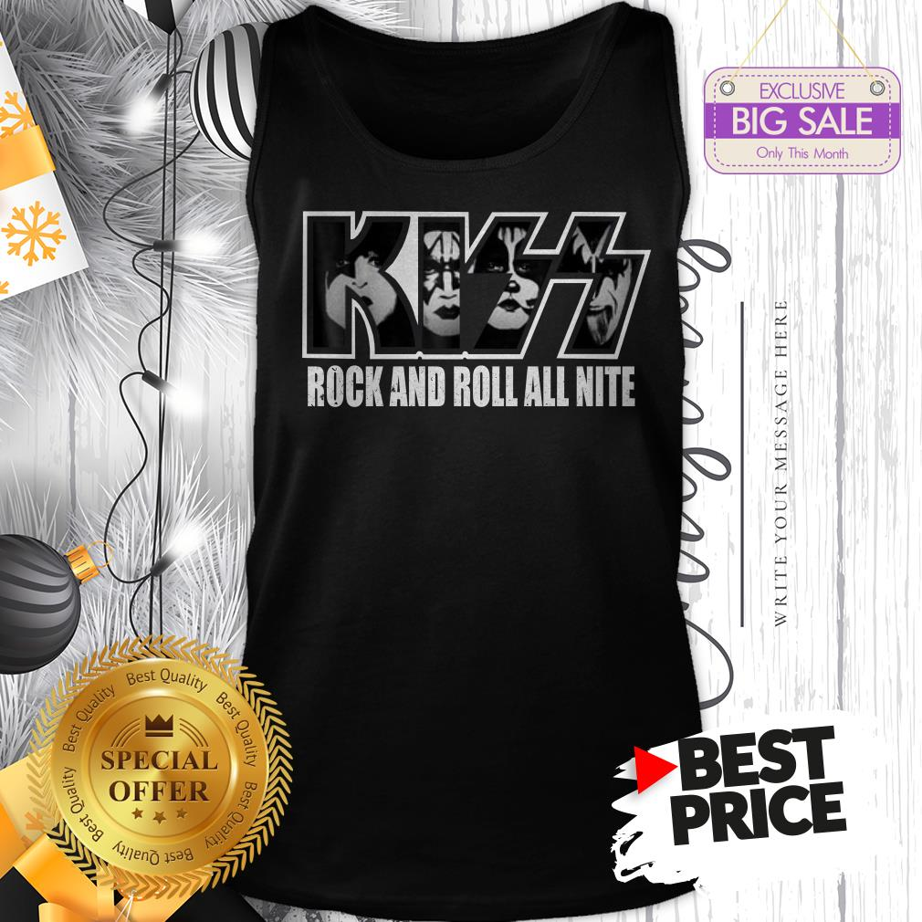 Official KISS Rock And Roll All Nite Tank Top