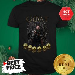 Official Lionel Messi 6 Golden Ball Goat Game Of Throne Signature Shirt