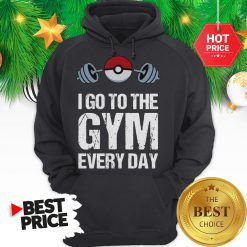 Official Pokemon I Go To The Gym Everyday Christmas Hoodie