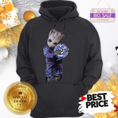 Official Pretty Baby Groot Hug MSV Duisburg Hoodie
