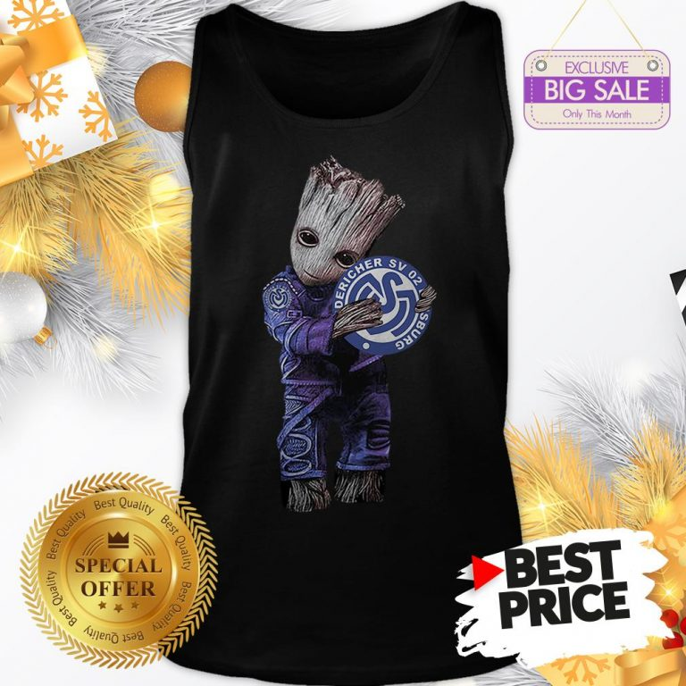 Official Pretty Baby Groot Hug MSV Duisburg Tank Top