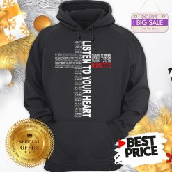 Official Pretty Listen To Your Heart Thanks For The Memories 1958 2019 Roxette Hoodie