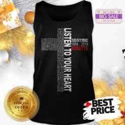 Official Pretty Listen To Your Heart Thanks For The Memories 1958 2019 Roxette Tank Top