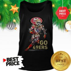 Official San Francisco 49ers Go 49ers Signatures A Good Tank Top