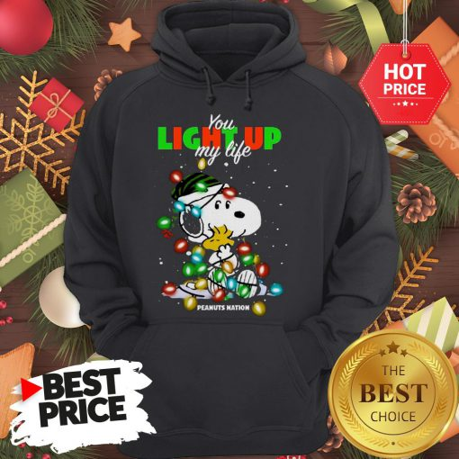 Official Snoopy You Light Up My Life Peanuts Nation Christmas Hoodie