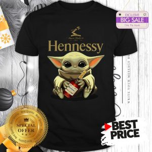 Official Star Wars Baby Yoda Hug Hennessy Shirt