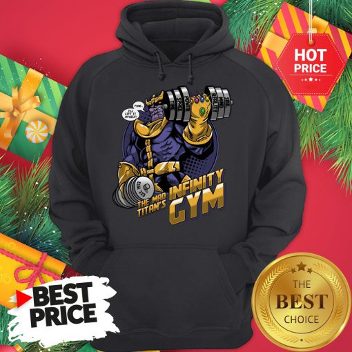 Official Thanos Fine I'll Lift It Myself The Mad Titan's Infinity Gym Hoodie