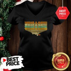 Official The Pretty Octane Rocket What A Save Chat Disabled For 4 Seconds Vintage V-Neck