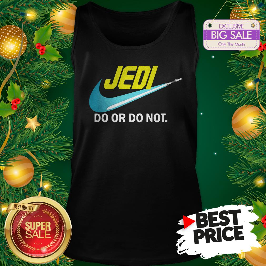 Official Top Jedi Nike Do Or Do Not Star Wars Tank Top