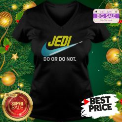 Official Top Jedi Nike Do Or Do Not Star Wars V-Neck