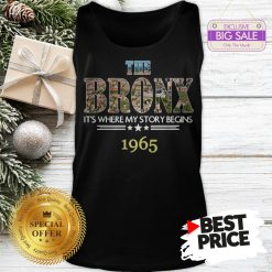 Official Top The Bronx It's Where My Story Begins 1965 Tank Top