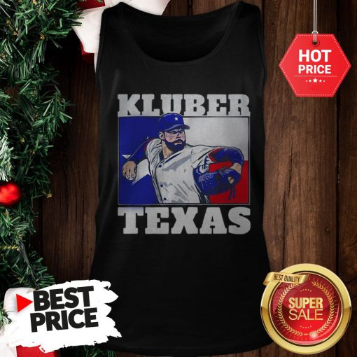Official Very Corey Kluber Texas Rangers Tank Top
