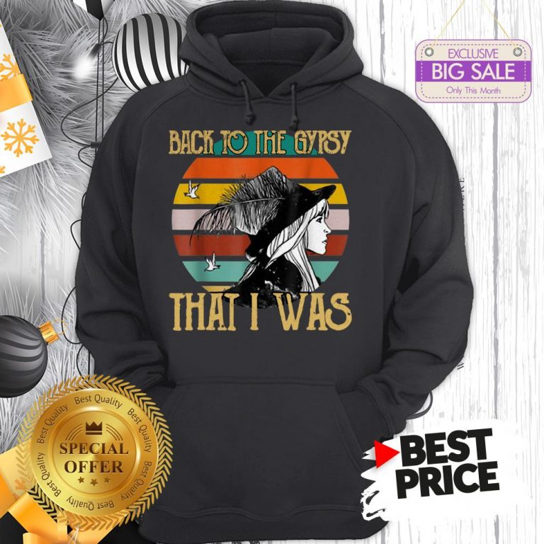 Official Vintage Stevie Nicks Back To The Gypsy That I Was Hoodie