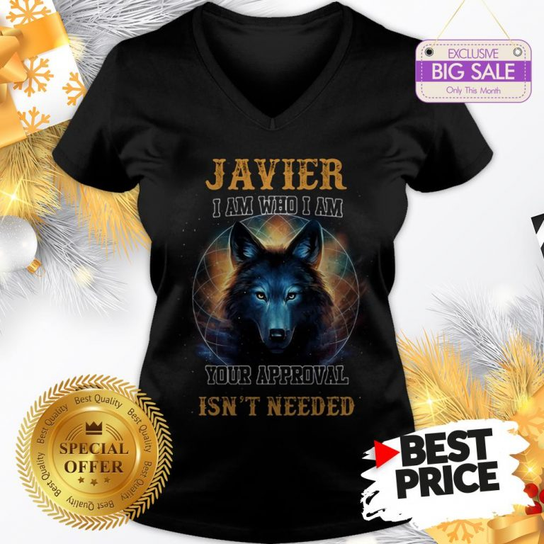 Official Wolf Javier I Am Who I Am Your Approval Isn't Needed A Good V-Neck