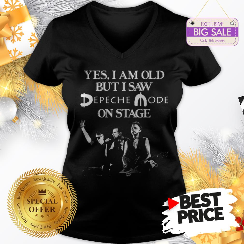 Official Yes I Am Old But I Saw Depeche Mode On Stage V-Neck