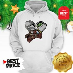 The Mandalorian Baby Yoda Kids Funny Bounty Bros Hoodie