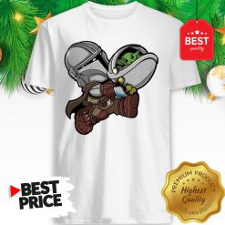 The Mandalorian Baby Yoda Kids Funny Bounty Bros Shirt