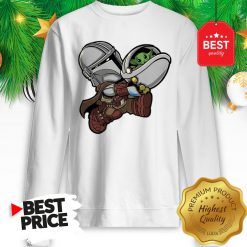 The Mandalorian Baby Yoda Kids Funny Bounty Bros Sweatshirt