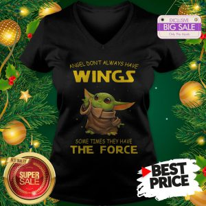 Official Baby Yoda Hug Pittsburgh Penguins Star Wars V-Neck