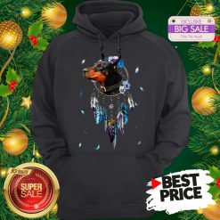 The Pretty Rottweiler Dreamcatchers Rings Native American Hoodie