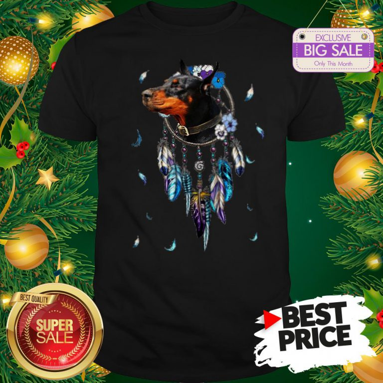 The Pretty Rottweiler Dreamcatchers Rings Native American Shirt