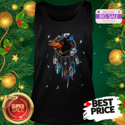 The Pretty Rottweiler Dreamcatchers Rings Native American Tank Top