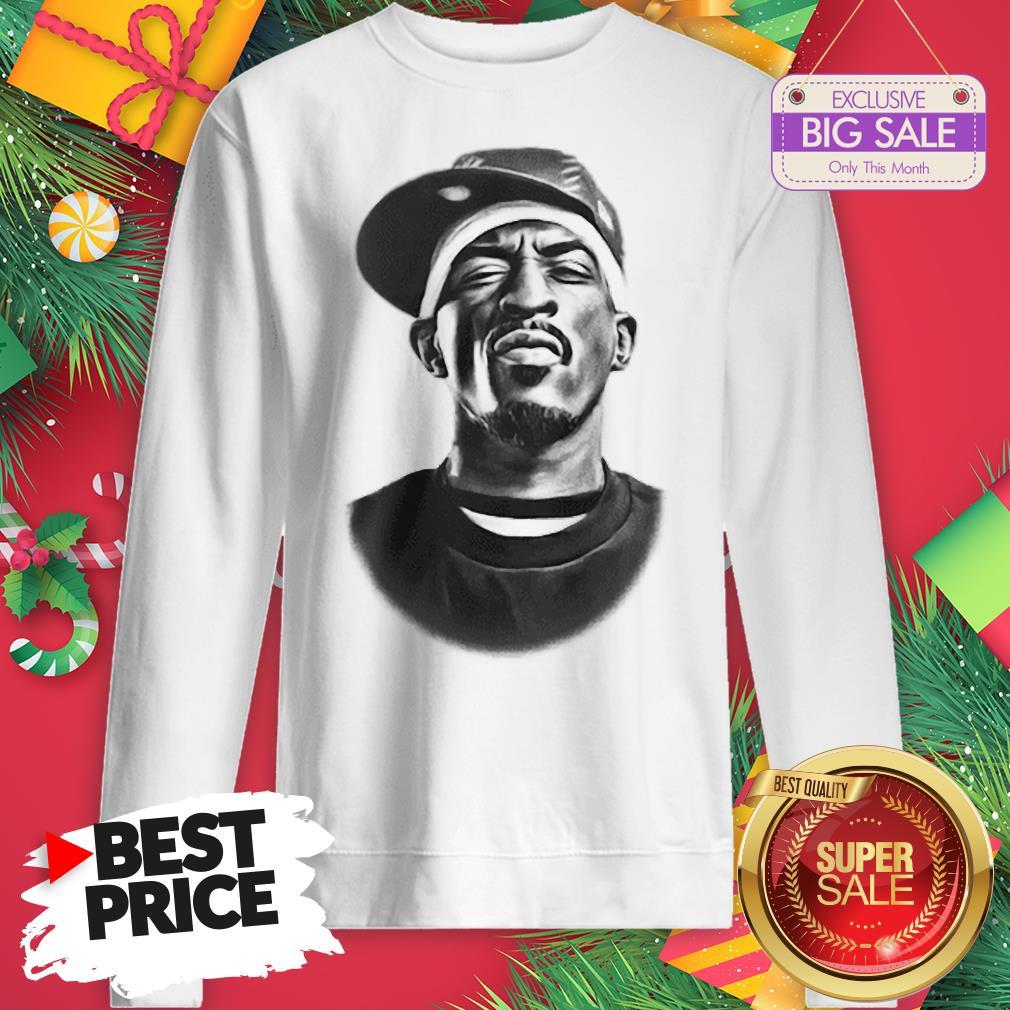 Top Rap Legend Rakim Is Coming To New Orleans Saints Sweatshirt
