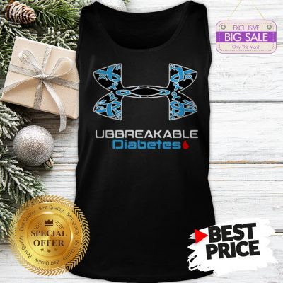 Unbreakable Diabetes Under Armour World Cancer Day Tank Top