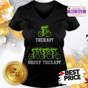 Very Nice Bicycle Group Therapy V-Neck