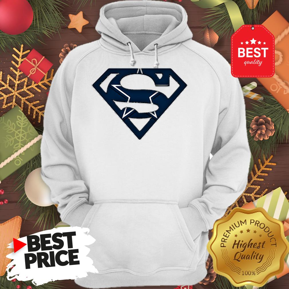 We Are Undefeatable The Dallas Cowboys Superman Logo A Good Hoodie