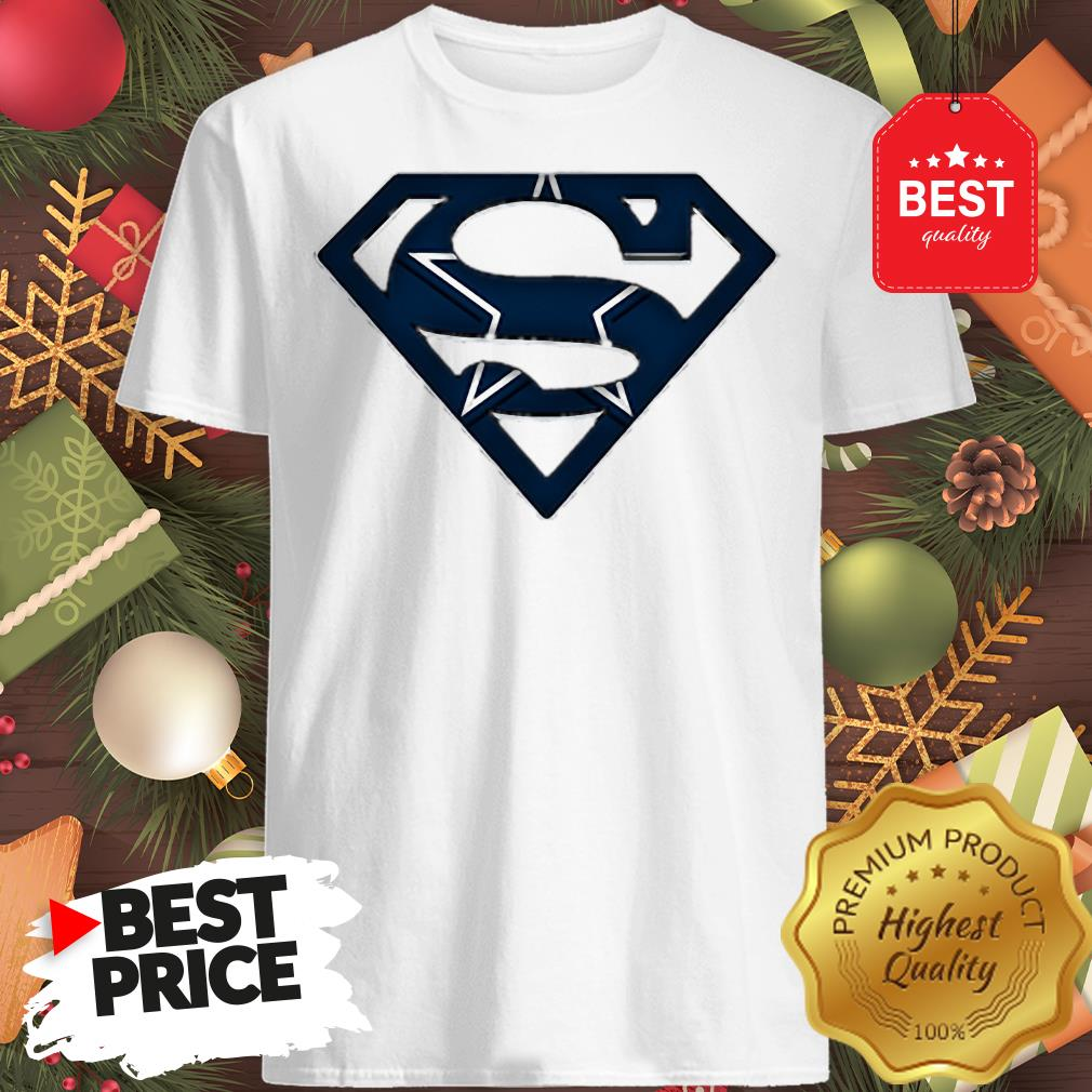 We Are Undefeatable The Dallas Cowboys Superman Logo A Good Shirt
