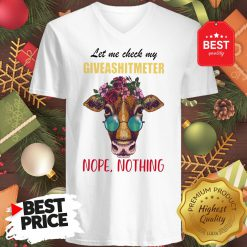 Wonderful Let Me Check My Giveashitmeter Nope Still Nothing Heifer Fun V-Neck
