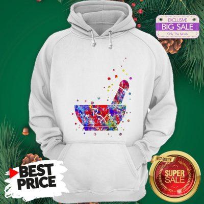 Wonderful Pharmacist Pestle Rx Medical Colorful Hoodie