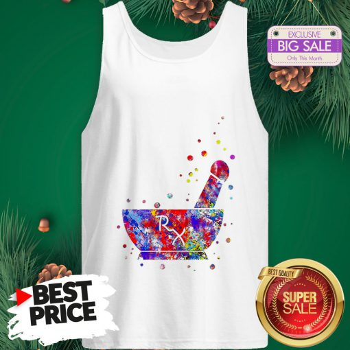 Wonderful Pharmacist Pestle Rx Medical Colorful Tank Top