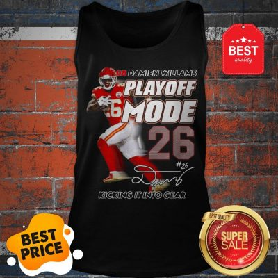 Hot Red Damien Williams Playoff Mode Chiefs Tank Top
