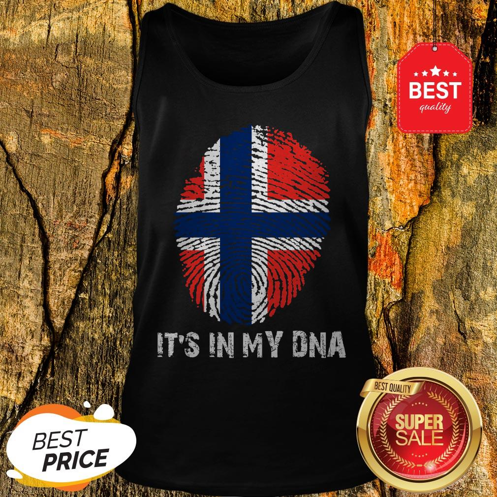 Norway American It's In My DNA Tank Top
