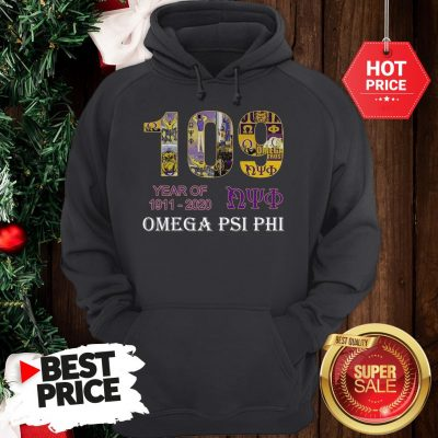 Official 109 Years Of Nyo 1911 2020 Omega PSI PHI Hoodie
