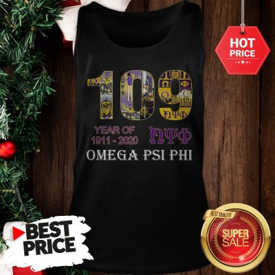 Official 109 Years Of Nyo 1911 2020 Omega PSI PHI Tank Top