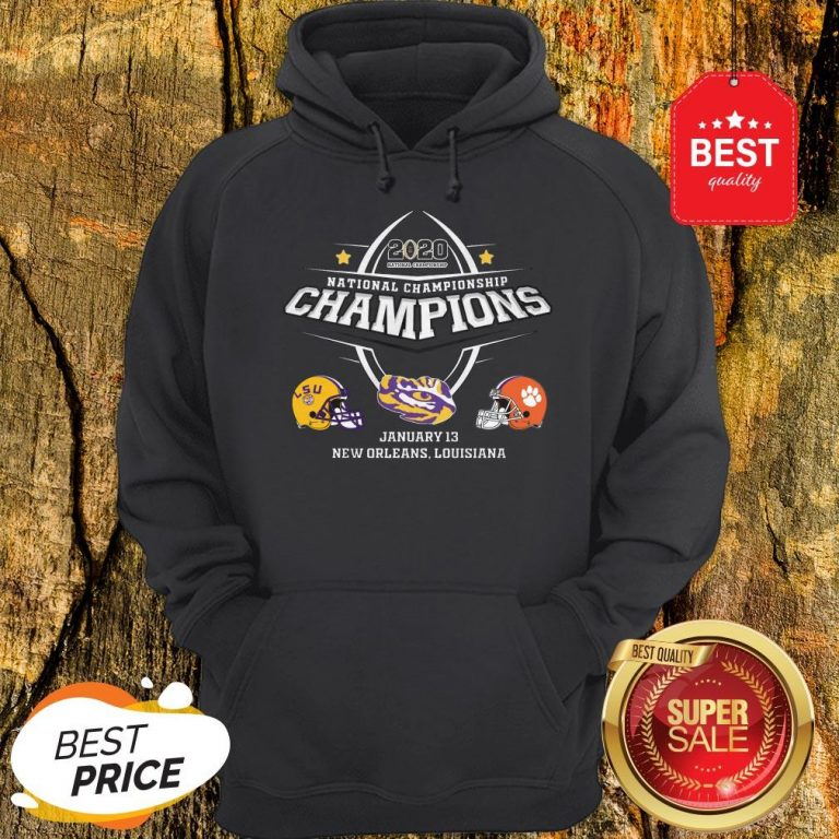 Official LSU 2020 National Championship Hoodie