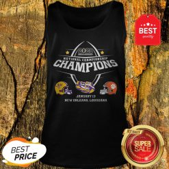 Official LSU 2020 National Championship Tank Top
