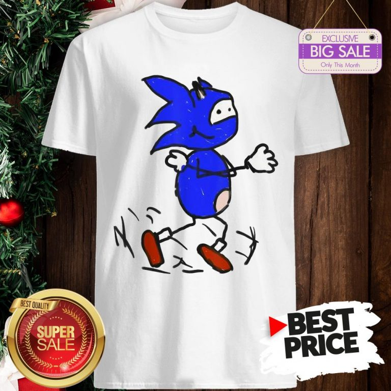 Official Painting With Vanilla Bizcotti Sonic Shirt