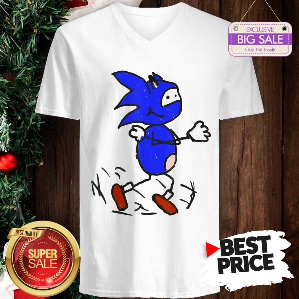 Official Painting With Vanilla Bizcotti Sonic V-Neck