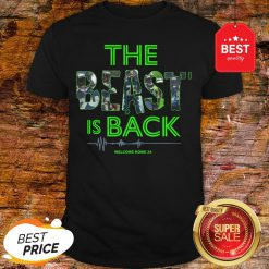 Official Top The Beast Is Back Shirt