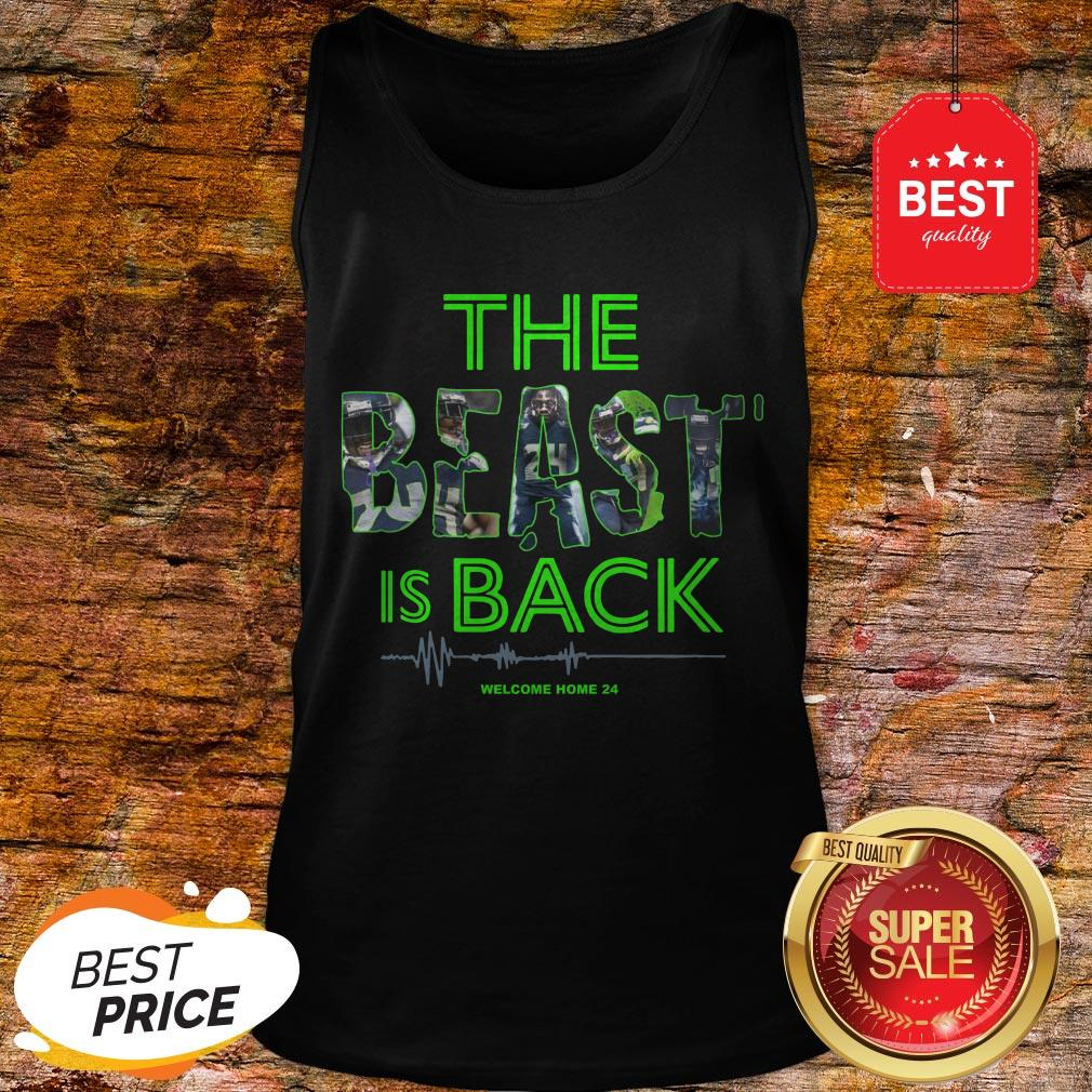 Official Top The Beast Is Back Tank Top