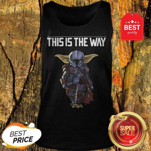 The Mandalorian This Is A Way Tank Top