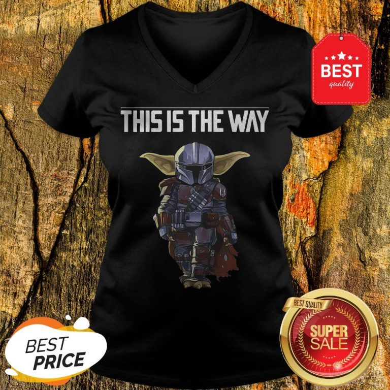 The Mandalorian This Is A Way V-Neck