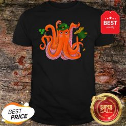 Official Funny Irish Octopus St Patrick's Day Shirt
