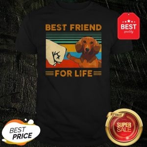 Official Dachshund Best Friend For Life Vintage Shirt