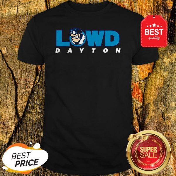 Official Lowd Dayton Flyers Basketbal Shirt